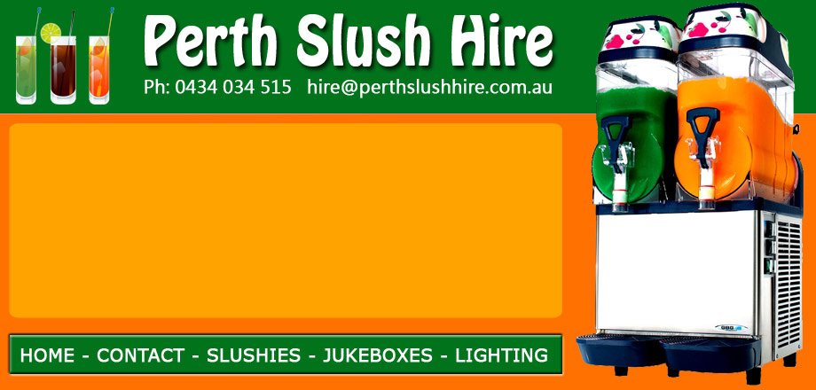 Perth Slush Hire - Slushy Machings for Hire in Perth, WA. Click to email us.
